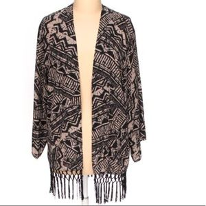 Antthony Original Black and Beige cardigan size L
